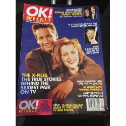 OK Magazine 0018 - Issue 18 Gillian Anderson David Duchovny