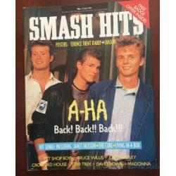 Smash Hits Magazine - 1987 01/07/87 (Aha cover)