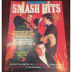 Smash Hits Magazine - 1987 06/05/87 (Depeche Mode Cover)