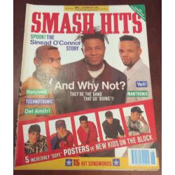 Smash Hits Magazine - 1990 07/02/90