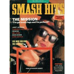 Smash Hits Magazine - 1987 25/03/87 (The Mission Cover)