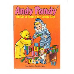 Andy Pandy Builds a House for Looby Loo Hardback Book