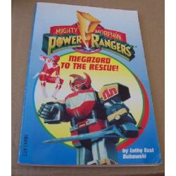 Power Rangers By Cathy East Dubowski Paperback Book