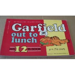 Garfield Out To Lunch By Jim Davis Paperback Book