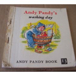 Andy Pandys Washing Day By Maria Bird Paperback Book