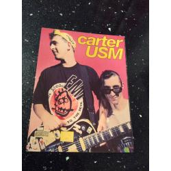 Carter USM Smash Hits Postcard