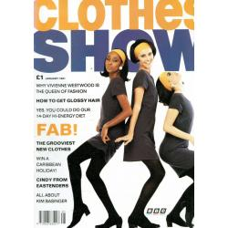 Clothes Show Magazine - January 1991