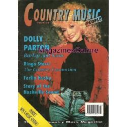 Country Magazine Dolly Parton Ferlin Husky Shake Russel