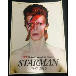 Tribute to David Bowie Starman 1947 - 2016