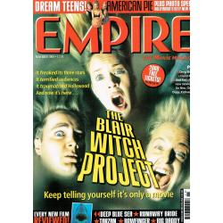 Empire Magazine 125 - (The Blair Witch Project Cover)