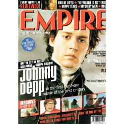 Empire Magazine 127 - 2000 (Johnny Depp Cover)