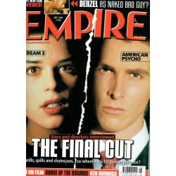 Empire Magazine 131 - 2000 (Scream 3 & American Psycho Cover)