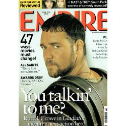 Empire Magazine 132 - 2000 (Russell Crowe Cover)