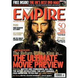 Empire Magazine 172 - 2003 (The Return of the King Cover)