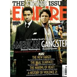 Empire Magazine 221 - 2007 (American Gangster Cover)