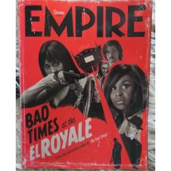 Empire Magazine 354 - Bad Times at the El Royale (Subscriber Cover)