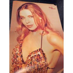Kylie Minogue Poster Smash Hits