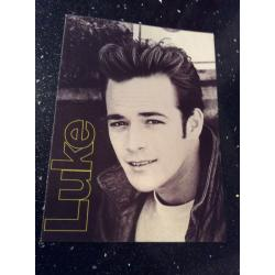 Luke Perry Smash Hits Postcard