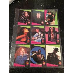 MusiCards Superstars Trading Cards