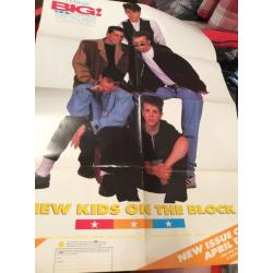 New Kids on the Block Double Sided Poster