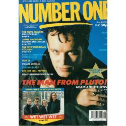 Number One Magazine - 1990 03/03/90 (Adam Ant Cover)