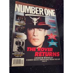Number One Magazine - 1990 24/03/90 (Andrew Ridgeley Cover)