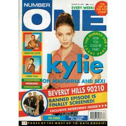 Number One Magazine - 1991 24/08/91 (Kylie Minogue Cover)