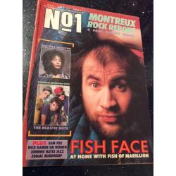 No. 1 Magazine - 1987 30/05/87 (Marillion Cover)