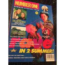 Number One Magazine - 1990 Summer Special