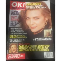 OK Magazine - 1993 08/93 Michelle Pfeiffer