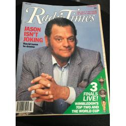 Radio Times Magazine - 1990 07/07/90 (David Jason)