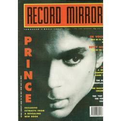 Record Mirror Magazine 1990 02/06/90 (Prince Cover)