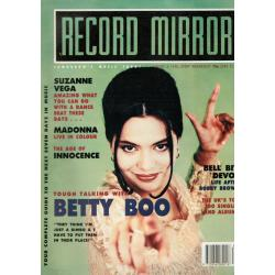 Record Mirror Magazine 1990 04/08/90 (Betty Boo Cover)