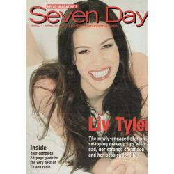 Seven Days Magazine - 2001 04/04/01 (Liv Tyler Cover)