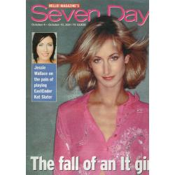 Seven Days Magazine - 2001 04/10/01 (Victoria Hervey Cover)