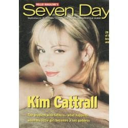 Seven Days Magazine - 2001 06/09/01 (Kim Cattrall)