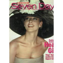 Seven Days Magazine - 2001 11/04/01 (Faye Tozer Cover)