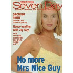 Seven Days Magazine - 2001 13/09/01 (Amanda Holden Cover)