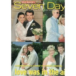 Seven Days Magazine - 2001 20/09/01 (Pierce Brosnan, Billie Piper Cover)