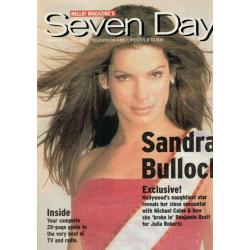 Seven Days Magazine - 2001 21/03/01 (Sandra Bullock Cover)