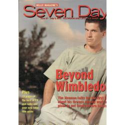 Seven Days Magazine - 2001 27/06/01 (Tim Henman Cover)