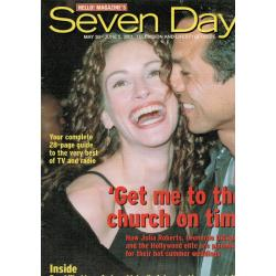 Seven Days Magazine - 2001 30/05/01 (Julia Roberts Cover)