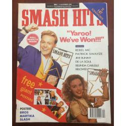 Smash Hits Magazine - 1989 01/11/89 (Smash Hits Poll Cover)