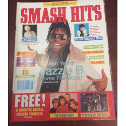 Smash Hits Magazine - 1990 02/05/90 (Jazzie B Cover)