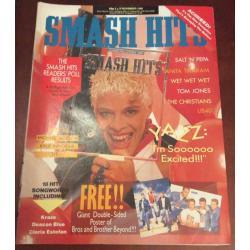 Smash Hits Magazine - 1988 02/11/88 (Yazz Cover)