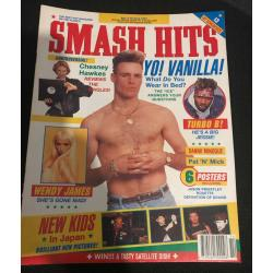 Smash Hits Magazine - 1991 03/04/91 (Vanilla Ice Cover)