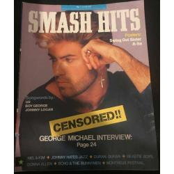 Smash Hits Magazine - 1987 03/06/87 (George Michael Cover)