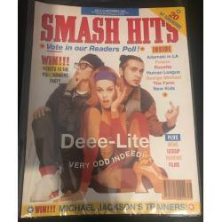 Smash Hits Magazine - 1990 05/09/90 (Deee Lite Cover)