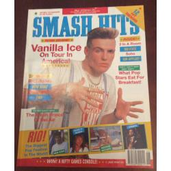 Smash Hits Magazine - 1991 06/02/91 (Vanilla Ice)