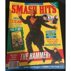 Smash Hits Magazine - 1991 06/03/91 (MC Hammer Cover)